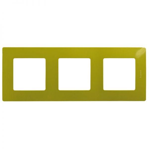Рамка 3-постова Зелена папороть Етіка