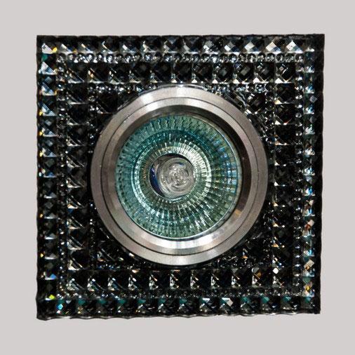 Св.точк.7027 BК чорний Led-підсвітка