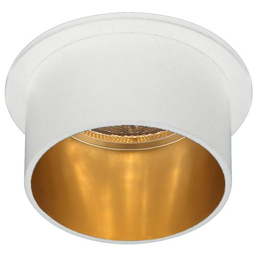 Св-к точк.DL6005 MR16/G5.3/алюміній,білий+золото(зовн.)