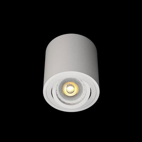 Св-к точк.накл.круг MR16 GU5.3  QXL106B-4- R WT