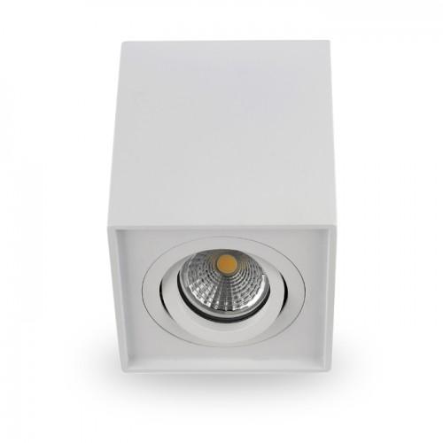 Св-к.накл.точк.Ферон ML305 поворот., без лампи MR16/GU10 білий