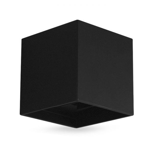 Св-к архіт.DH012 COB  2*3W 450LM 4000K  IP54 ,чорн. 100*100*100мм