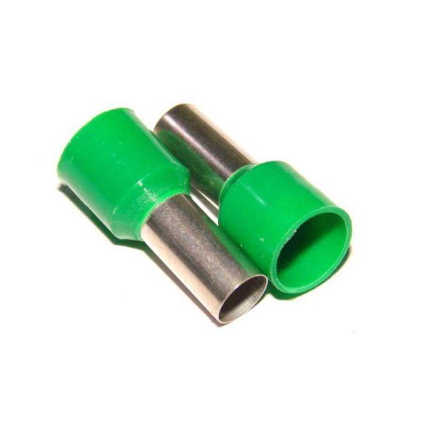 Ізол.наконеч.втулковий 0,5кв.мм зелений.e.terminnal.stand.e0508