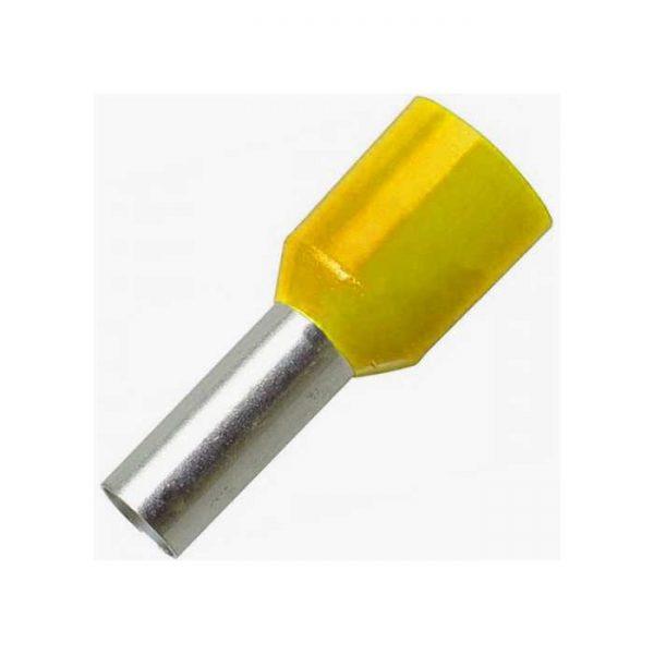 Ізол.наконеч.втулковий 2,5 кв.мм жовт.e.terminnal.stand.e2508