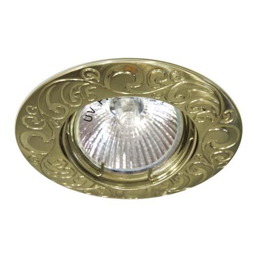 Св-к.точк.Ферон 2005DL MR-16 античне золото