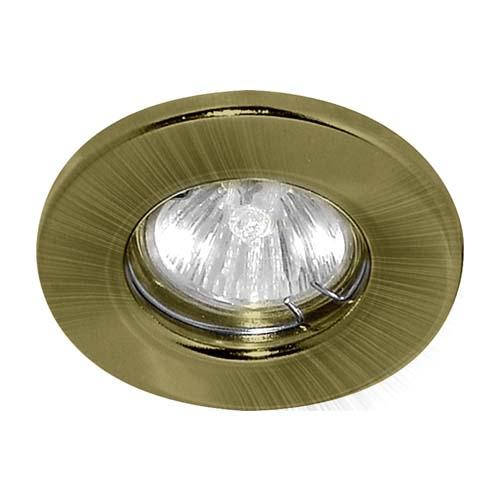 Св-к.точк.Ферон DL10 античне золото MR-16 неповорот.