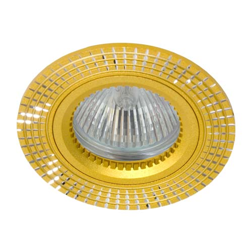 Св-к.точк.Ферон GS-M369 MR16/G5.3/ золото
