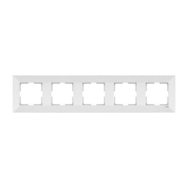 Meridian Рамка 5-на гориз.біла