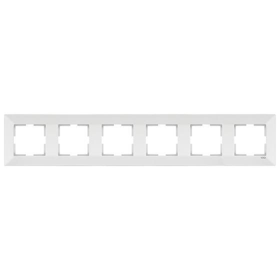 Meridian Рамка 6-на гориз.біла