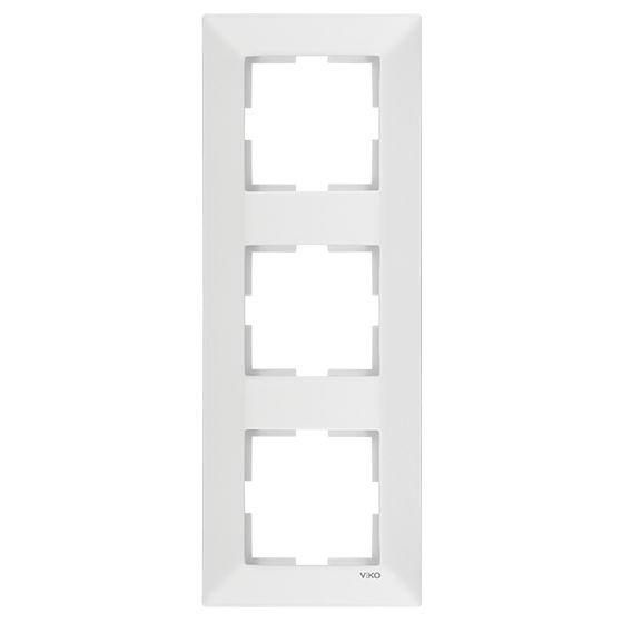 Meridian Рамка 3-на верт.біла