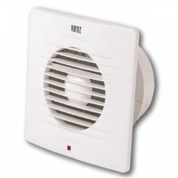 Вентилятор побут. 12W 100мм з решіткою TM Horoz 158x158mm