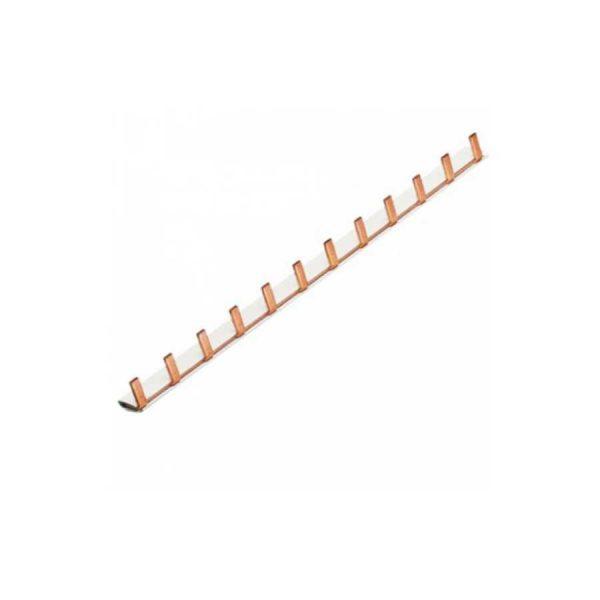 Шина з'єдн.штирьова, 1-полюсна на 12мод., з ізоляц. 10мм.кв TM Hager