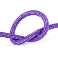 Провід в тканинній обмотці фіолетовий 2х0,75