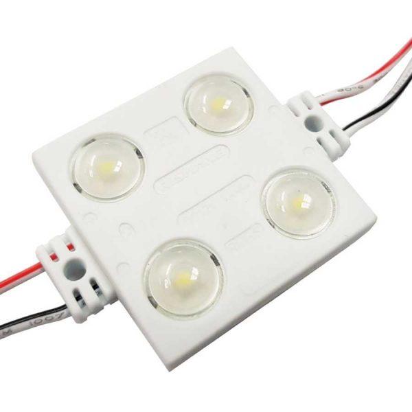 LED-модуль 4LED 1,4Вт 12V IP65 7000К квадрат Rishang
