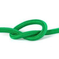 Провід в тканинній обмотці зелений 2х0,75