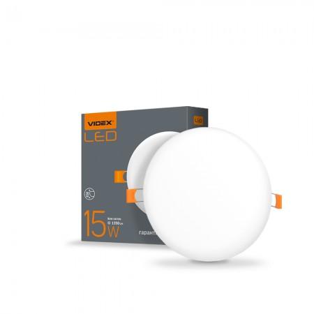 Св-к LED внут.безрам.круг. 15W 4100K 220V  VL-DLFR-154