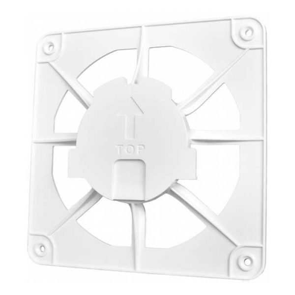 Вентилятор airRoxy dRim 150×150 white (02-300)