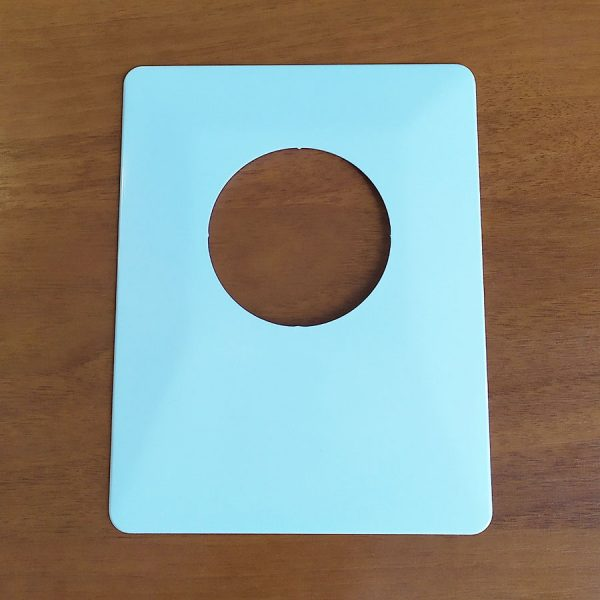 Накладка під вимикач 140х180мм/біла