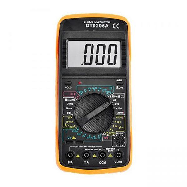 Тестер цифровий великий DT-9205А