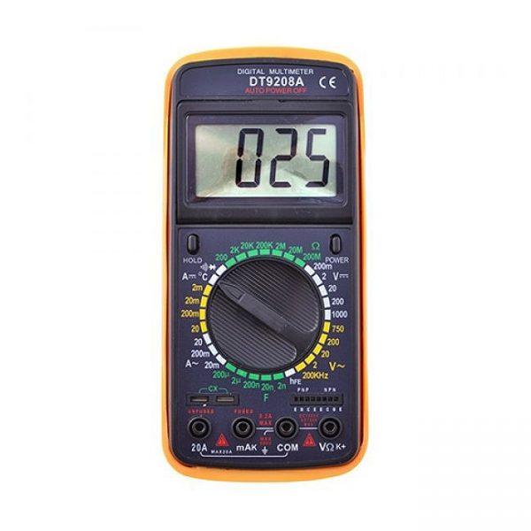 Тестер цифровий великий DT-9208А