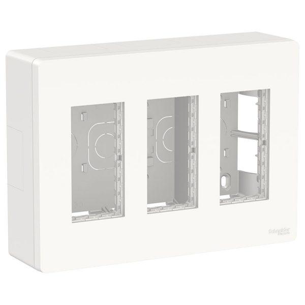 Блок відкритого монтажу Unica System+ 3х2 білий