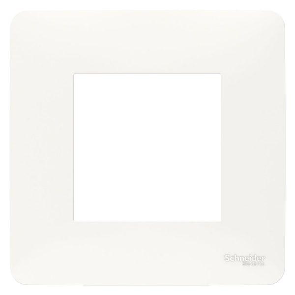 Рамка 1-на постова біла Unica Studio