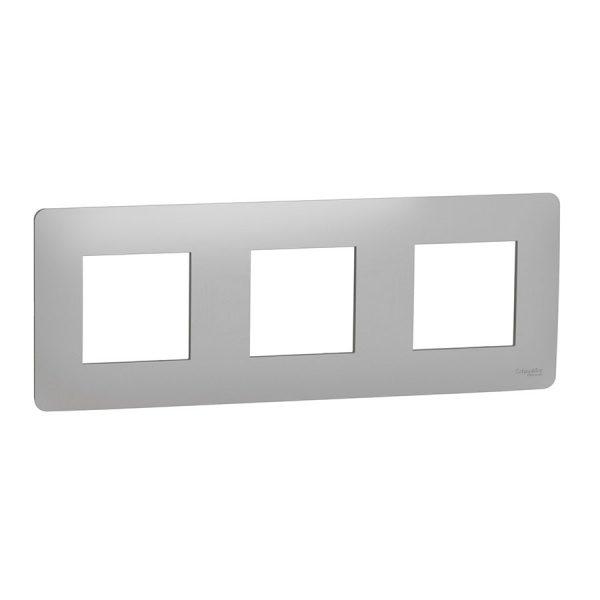Рамка Unica Studio 3-на алюміній