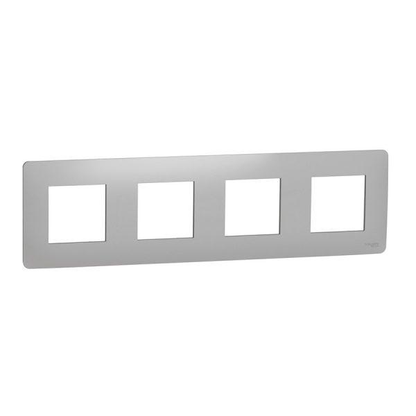 Рамка Unica Studio 4-на алюміній