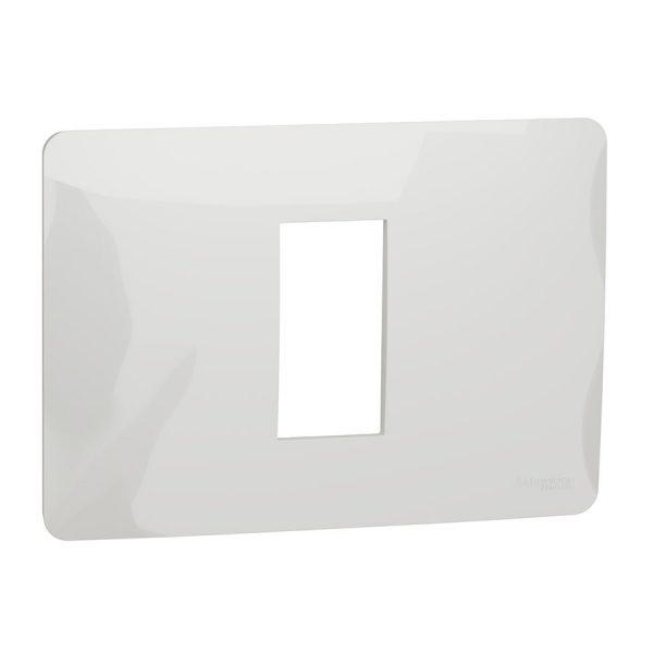 Рамка Unica Studio 1-модульна біла