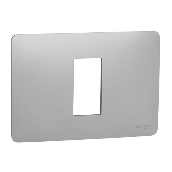 Рамка Unica Studio 1-модульна алюміній