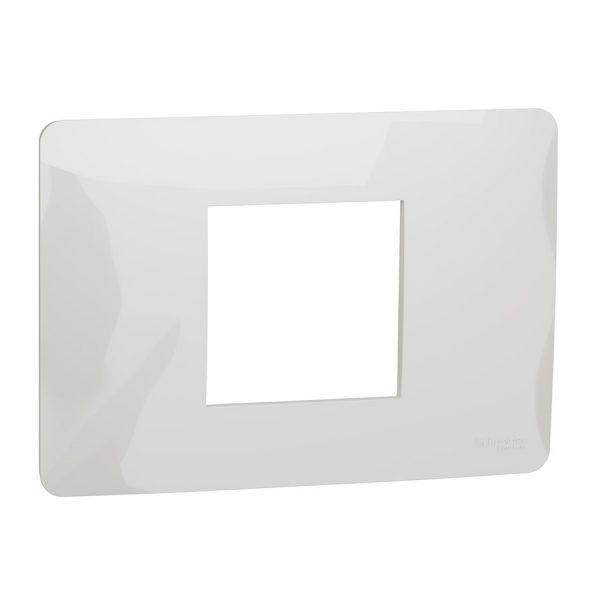 Рамка Unica Studio 2-модульна біла