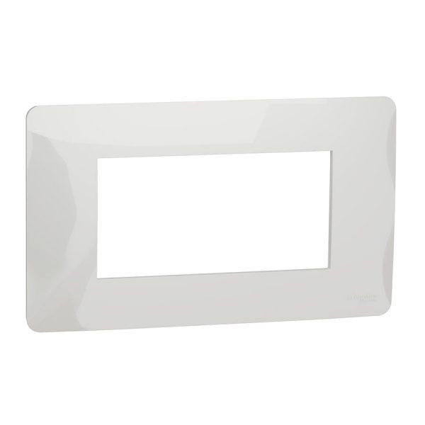 Рамка Unica Studio 4-модульна біла