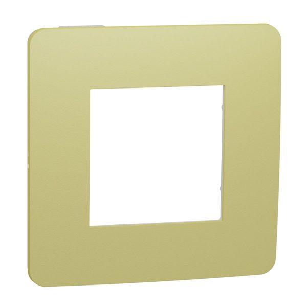 Рамка Unica Studio Color 1-на зелене яблуко/біла