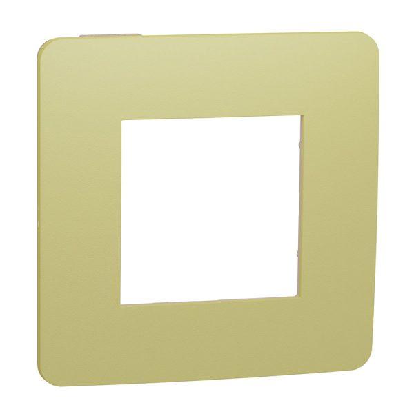 Рамка Unica Studio Color 1-на зелене яблуко/бежева