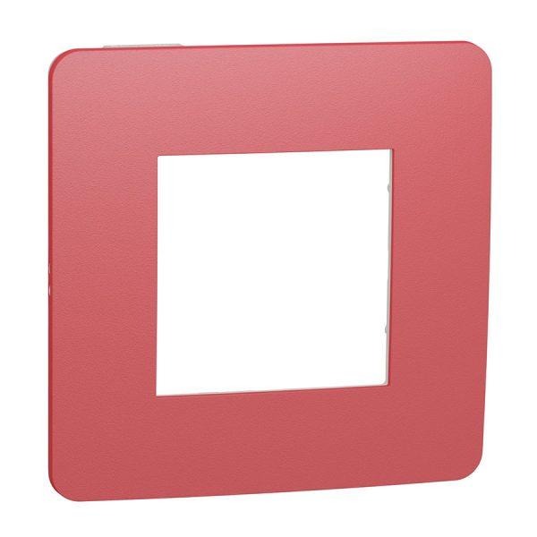 Рамка Unica Studio Color 1-на червона/біла