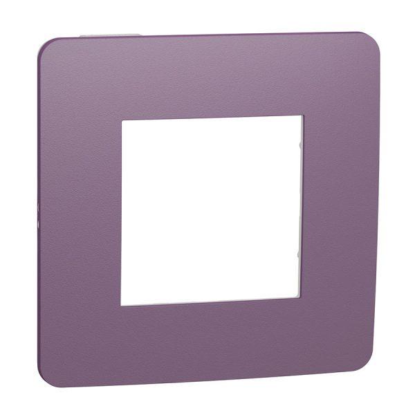 Рамка Unica Studio Color 1-на лілова/біла