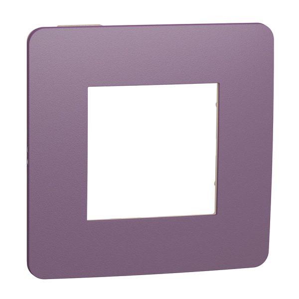 Рамка Unica Studio Color 1-на лілова/бежева