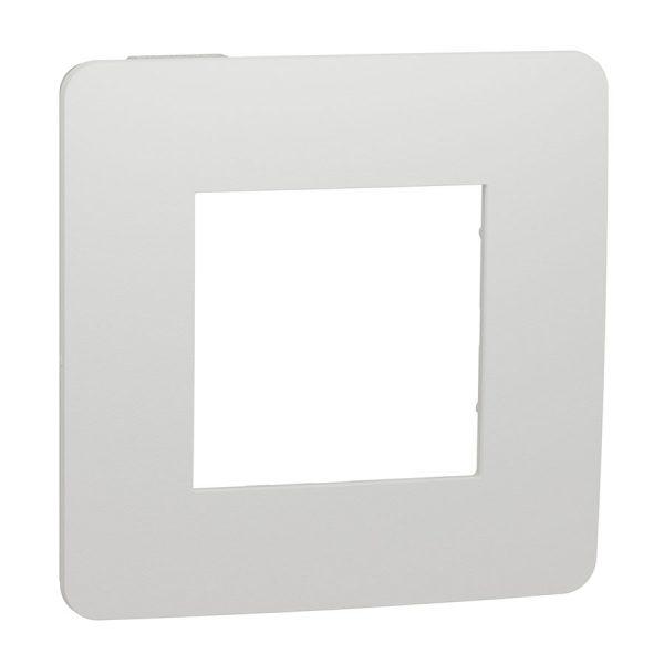 Рамка 1-на постова біла Unica NEW