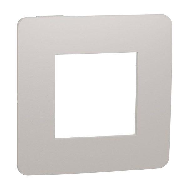 Рамка Unica Studio Color 1-на шампань/біла