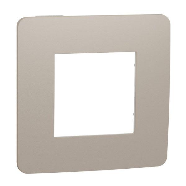 Рамка Unica Studio Color 1-на пісочна/біла