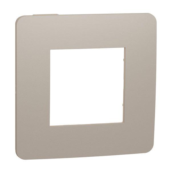 Рамка Unica Studio Color 1-на пісочна/бежева