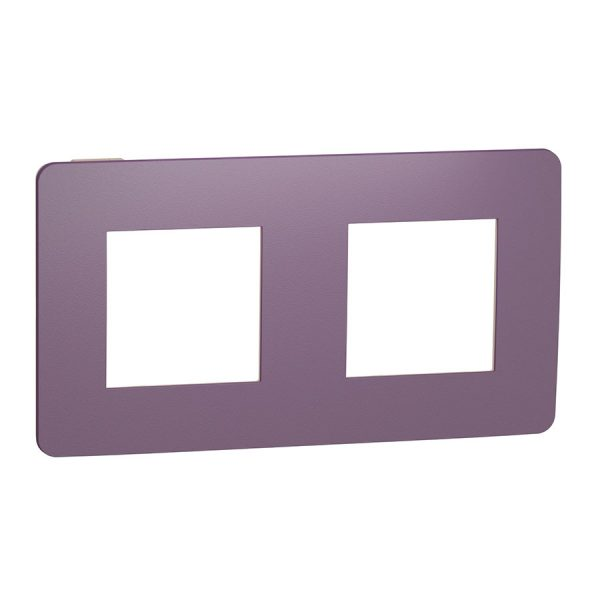 Рамка Unica Studio Color 2-на лілова/бежева