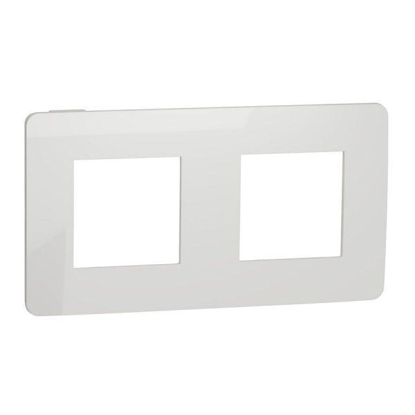 Рамка 2-на постова біла Unica NEW