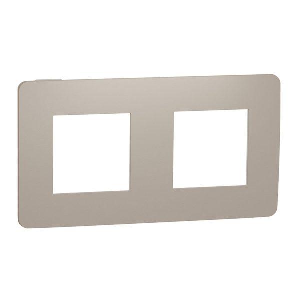 Рамка Unica Studio Color 2-на пісочна/біла