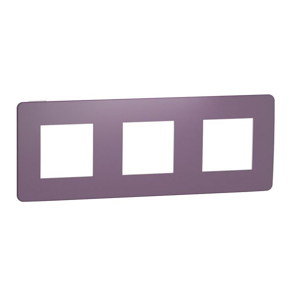 Рамка Unica Studio Color 3-на лілова/біла