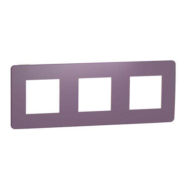Рамка Unica Studio Color 3-на лілова/бежева