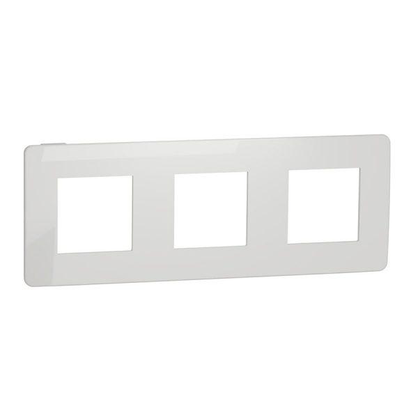 Рамка 3-на постова біла Unica NEW