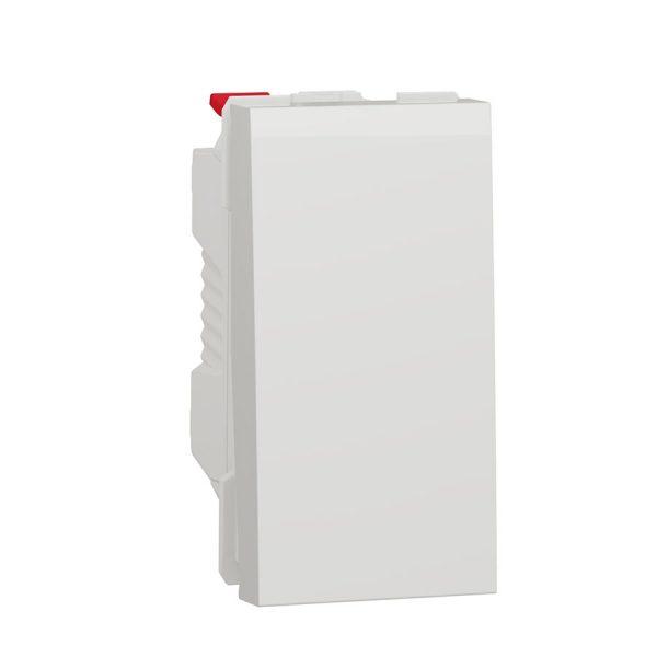 Вимик. 1 кл. (сх.1) 10A біл. (1м) Unica NEW