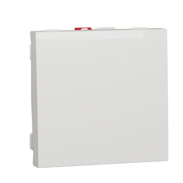 Вимик. 1 кл. (сх.1) 10A біл. (2м) Unica NEW