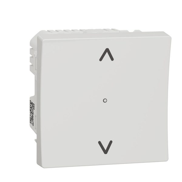 Вимикач Wiser управління жалюзі, Unica New білий